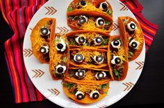 Halloween Party Food Ideas And Snack Recipes See our collection of silly, spooky and fall-inspired Halloween party foods and ideas at .See our collection of silly, spooky and fall-inspired Halloween party foods and ideas at . Halloween Party Appetizers, Halloween Desserts, Halloween Food For Party, Halloween Treats, Halloween Food Recipes, Halloween Finger Foods, Halloween Cocktails, Healthy Halloween, Homemade Halloween