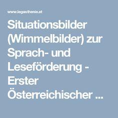 Situationsbilder (Wimmelbilder) zur Sprach‐und Leseförderung - Erster Österreichischer Dachverband Legasthenie