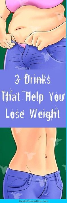 3 Drinks That Help You Lose Weight #health #fitness #beauty #weight #drinks #detox #diy
