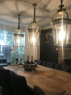 Ok part deux of the Living Etc home tours keep snooping! Dining Room Table, Dining Area, Interior Design London, Period Living, Living Etc, Dark Walls, Dark Interiors, Victorian Homes, Home Decor Inspiration