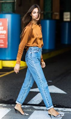 Do You Know How to Wear the One Shirt Every Fashion Girl Owns? via @WhoWhatWear