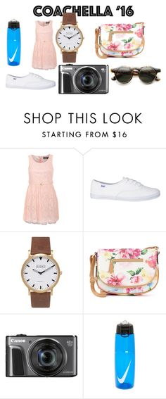 """""""Coachella concert look 2016"""" by shycoygirl65 ❤ liked on Polyvore featuring Pilot, Shore Projects, Apt. 9 and NIKE"""