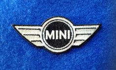 mini cooper - iron on 100% embroidered embroidery patch patches - 3.5 X 1.5 inches auto car 100% EMBROIDERED PATCHES - SEW IT ON OR IRON IT ON OR JUST ADD TO YOUR COLLECTION AUTO CAR BMW