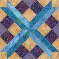 Quilt Patterns Free Quilt Patterns eQuiltPatterns.com: Chattanooga Crossroad Quilt Block