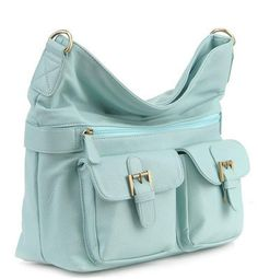 Gracie Mint - Jo Totes - Camera bags for women It comes with a shoulder strap and cross body strap.