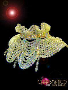 Charismatico Dancewear Store - High Neck Showgirl DIVA Collar Beaded Necklace with Crystal Stays, $120.00 (http://www.charismatico-dancewear.com/products/High-Neck-Showgirl-DIVA-Collar-Beaded-Necklace-with-Crystal-Stays.html)