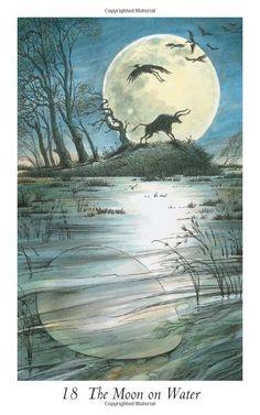 XVIII. The Moon (The Moon on Water) - Wildwood Tarot