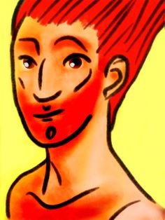 Ginger. Digital drawing by Consti*