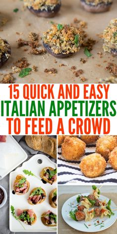 Quick and Easy Italian Appetizers to Feed a Crowd Meat Appetizers Appetizers Appetizers keto Appetizers parties Appetizers recipes Italian Appetizers Easy, Appetizers For A Crowd, Meat Appetizers, Appetizer Recipes, Italian Snacks, Appetizer Buffet, Italian Menu, Italian Recipes, Italy Food