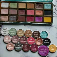 TOO FACED CLOVER PALETTE DUPES