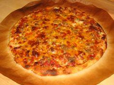 Amazing Thin Crust Pizza