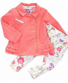 First Impressions Baby Set, Baby Girls Floral Moto Jacket and Pants Set - Kids Baby Girl (0-24 months) - Macy's     http://www1.macys.com/shop/product/first-impressions-baby-set-baby-girls-floral-moto-jacket-pants-set?ID=775459=48692#fn=sp%3D1%26spc%3D812%26ruleId%3D65%26slotId%3Drec(1)