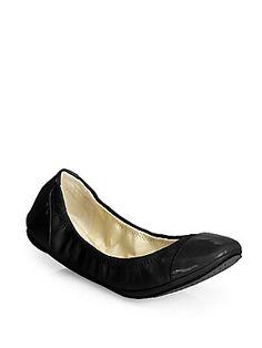 ac6ab4e7930dbd Randi Leather Leather Ballet Flats