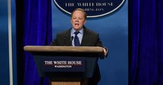 """Anna North, """"Opinion: Why Melissa McCarthy Had to Play Sean Spicer,"""" The New York Times (6 February 2017). She showed that cross-gender casting can be a lot more interesting than just putting a man in a dress."""