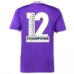 Real Madrid C.F 12 UCL Champions Away Los Blancos Jersey [K409]
