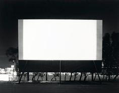 Hiroshi Sugimoto. 'Winnetka Drive-In, Paramount' 1993