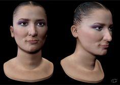 Female Model 3dsmax, Zbrush, Photoshop
