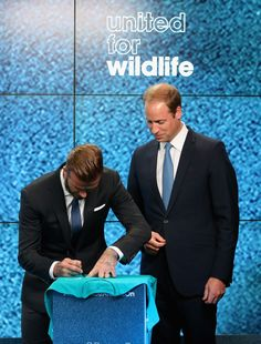 Prince William Photos - Prince William and David Beckham Team Up - Zimbio