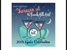 2013 Fundraising Gala for Shane's Inspiration: Swingin' At The Beverly Hills Hotel! Rat Pack theme celebration where everyone is encouraged to dress in vintage garb. Kaley Cuoco, Ben Vereen, Steve Valentine and David Koechner are appearing!