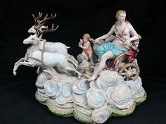 German Meissen Porcelain Statue
