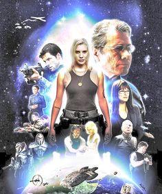 Battlestar Galactica poster!