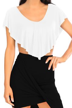 Withchic Black Strap Detail Gray Yoga Crop Top | Plus size