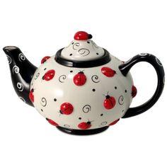 Ladybug With Swirls Teapot For Kitchen Decor And Teas Burton & Burton http://www.amazon.com/dp/B0016CWUO0/ref=cm_sw_r_pi_dp_P8i7tb1TM94NV