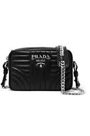 536cf0dc62aa Ellery - Countess off-the-shoulder cotton-twill top. Leather Camera BagPrada  ...