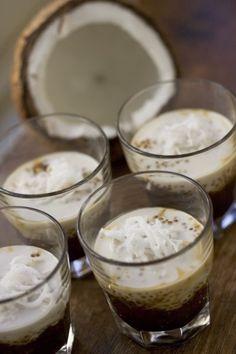 Tapioca Pudding with Palm Sugar Sauce