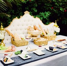 Cheese pairing station 16 DIY Food and Drink Stations for Your Next Party via @mydomaine