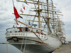 The Dar Pomorza is a Polish frigate built in 1909 and is now in use as a museum ship in the port of Gdynia museum.