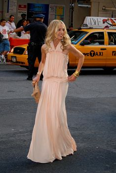 Rachel Zoe in ballerina pink Louis Vuitton, 2009 CFDA Awards