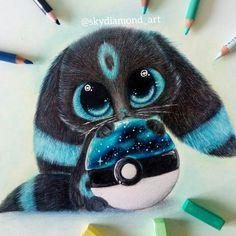 So cute Pokemon eeveelutions Cute Pokemon Wallpaper, Cute Disney Wallpaper, Cute Cartoon Wallpapers, Baby Animals Super Cute, Cute Little Animals, Cute Animals To Draw, Cute Disney Drawings, Cute Animal Drawings, Adorable Drawings