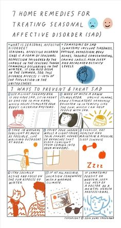 7 Home Remedies for Preventing & Treating SAD (Seasonal Affective Disorder) « The Secret Yumiverse #sarahayslcsw
