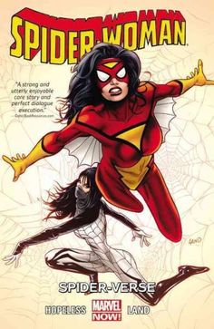 Jessica Drew has been an agent of both S.H.I.E.L.D. and S.W.O.R.D., an Avenger and so much more. But nothing could prepare her for the multidimensional insanity that is Spider-Verse! A war is brewing,