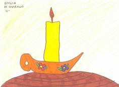 Colori caldi (rosso, giallo, arancio), preferiti da bambini estroversi, istintivi, curiosi...