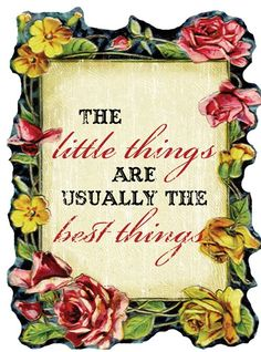The Little Things... Inspiring and Motivational Quotes http://thequotes.net/quotes/famous-quotes.html