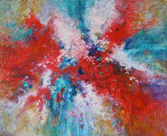 """INGER DILLAN ANTONSEN - """"Event"""" Oil on Canvas, 39.3"""" x 31.5"""""""