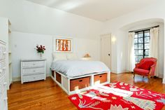 Cottage Guest Bedroom - Found on Zillow Digs. What do you think?