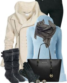 Polarskin Jacket Fall Winter Outfit