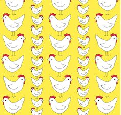 prosperity hen pattern - Google Search