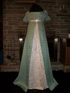 Custom made Regency Era Jane Austen 3 pc gown Spencer by sugar352, $250.00