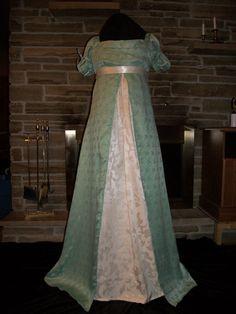 Custom made Regency Era Jane Austen 3 pc gown Spencer by sugar352, $250.00