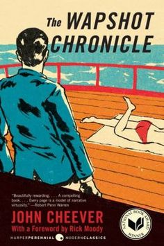 1958.  The Wapshot Chronicle by John Cheever Used Books, Books To Read, John Cheever, National Book Award Winners, Modern Library, Dysfunctional Family, Best Novels, Beautiful Book Covers, Classic Literature