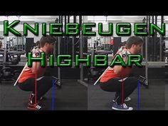 Richtig Kniebeugen | Kniebeugen Technik lernen (Highbar)