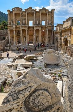#Ephesus is one of the greatest archaeological sites in #Turkey