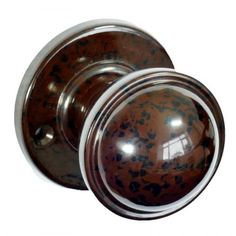 We provide vintage Bakelite Brolite walnut brown door knobs. All of our Bakelite Brolite doorknobs have been modelled to replicate the originals, with some very rare finds. Door Knobs, Door Latch, Door Knockers, Brown Doors, Walnut Doors, Knobs And Handles, Door Handles, Possible Combinations, Door Furniture