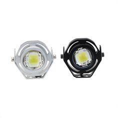 2x Blanc 10W COB LED Feux de Jour Diurne DRL Lampe Lumière de tête Universel 12V