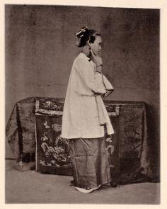 Lady of Canton, China, c1872.