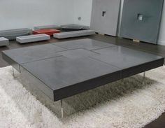 Table beton loft Table Design, Concrete, Loft, Furniture, Salon Design, Home Decor, Tables, Facebook, Coffee